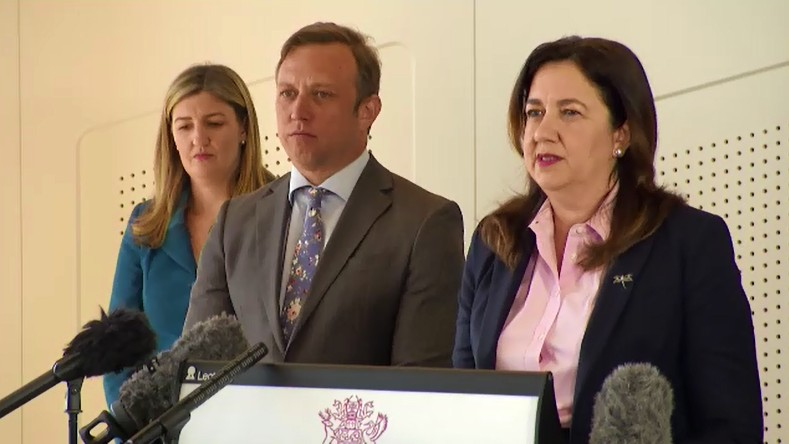 Queensland Premier Annastacia Palaszczuk said she would be supporting the voluntary assisted dying bill.