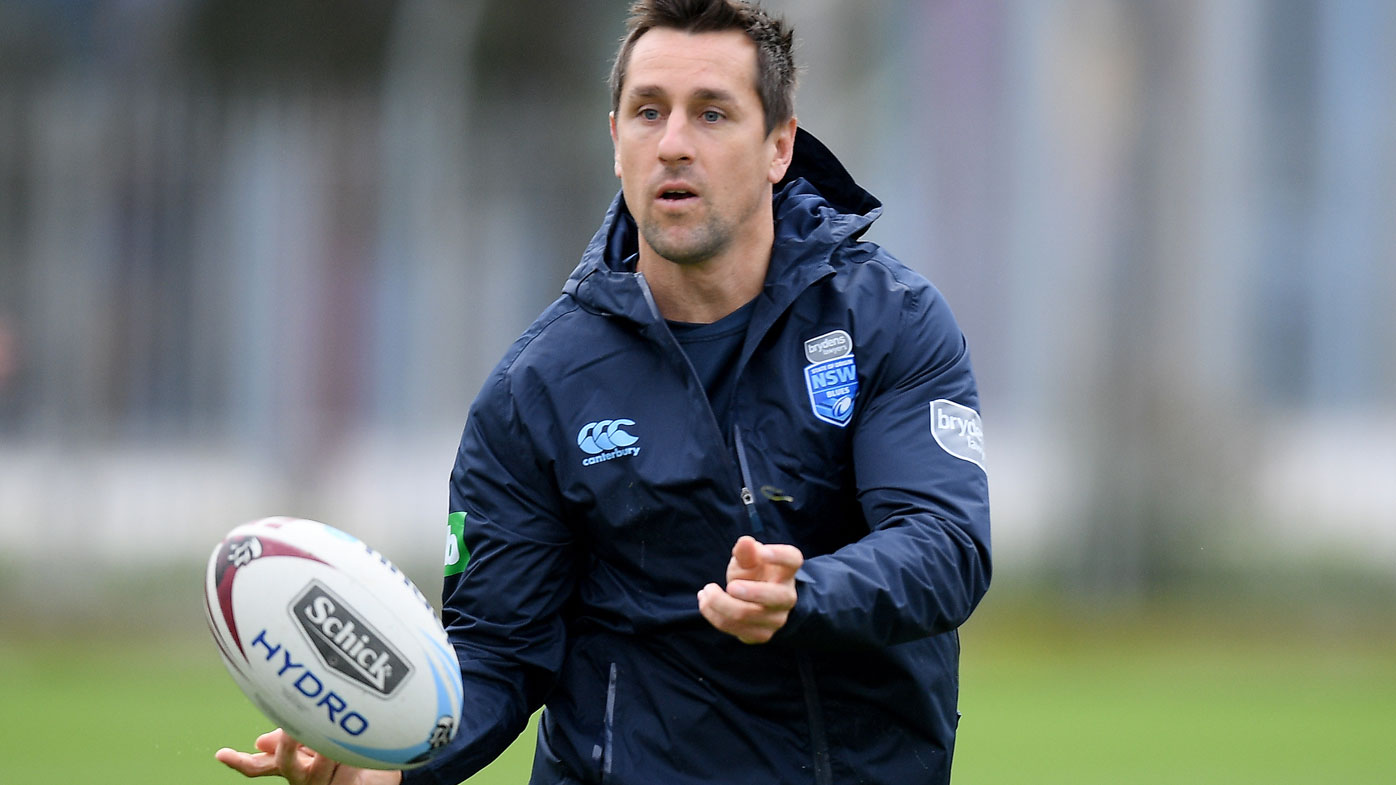 Mitchell Pearce trains with NSW