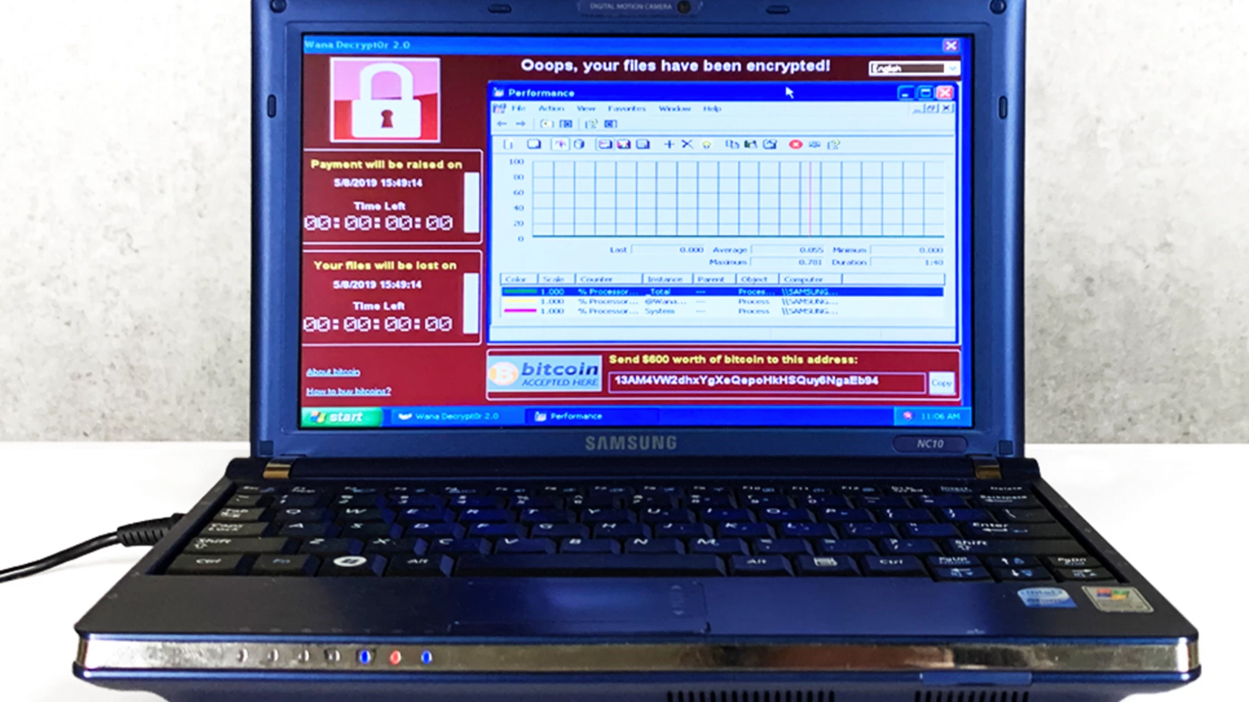 The Wannacry virus live on the computer.