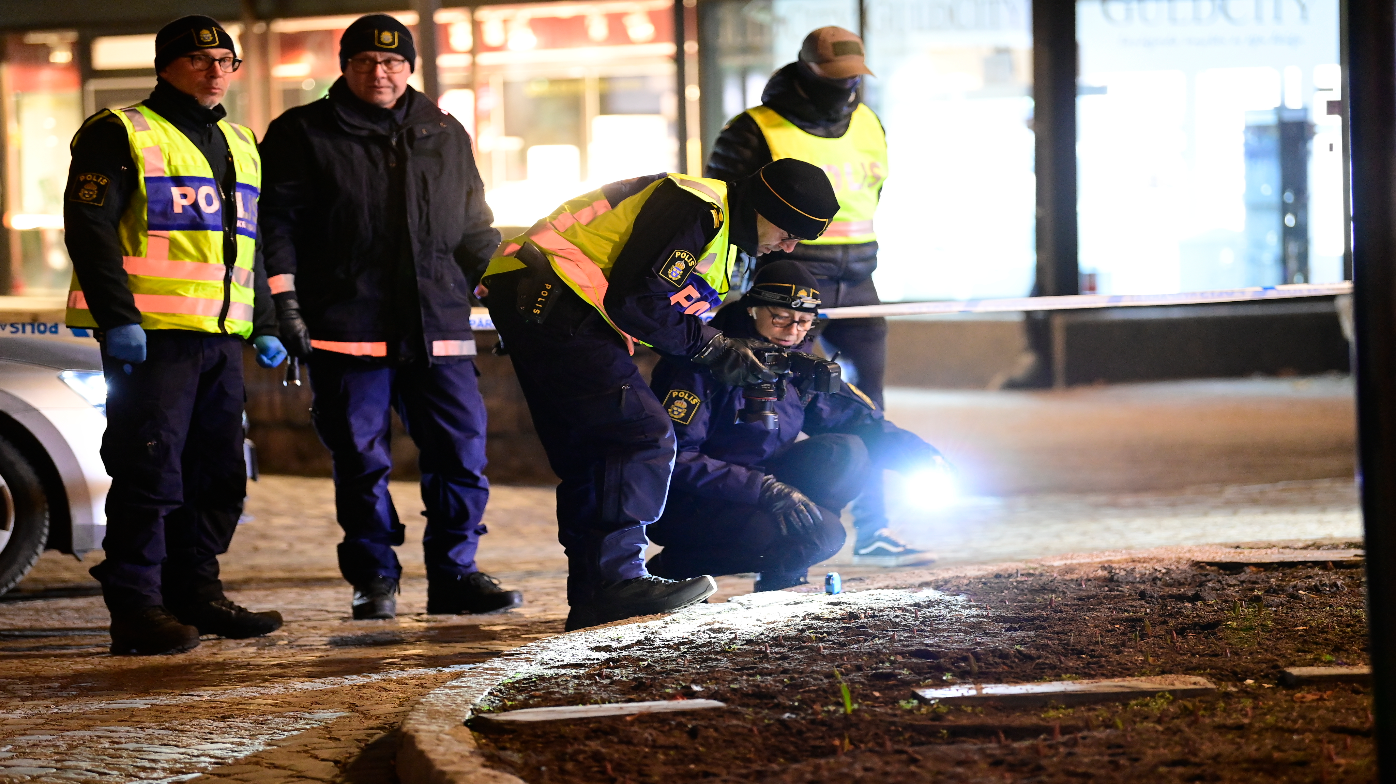 Swedish man injures eight with axe before being shot and arrested by police
