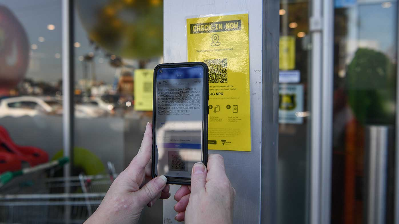 QR codes will be compulsory across all workplaces in Victoria.