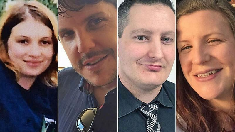 Dreamworld tragedy victims (from left): Cindy Low, Luke Dorsett, Roozi Araghi and Kate ... <a target=