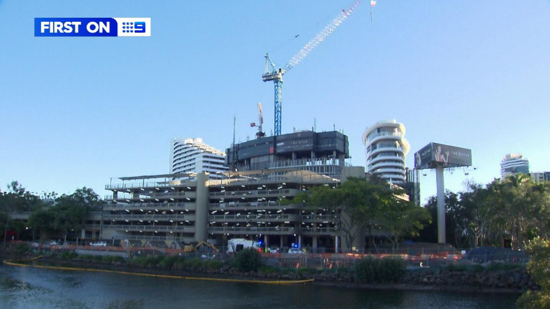 Gold Coast Star Casino roof fall