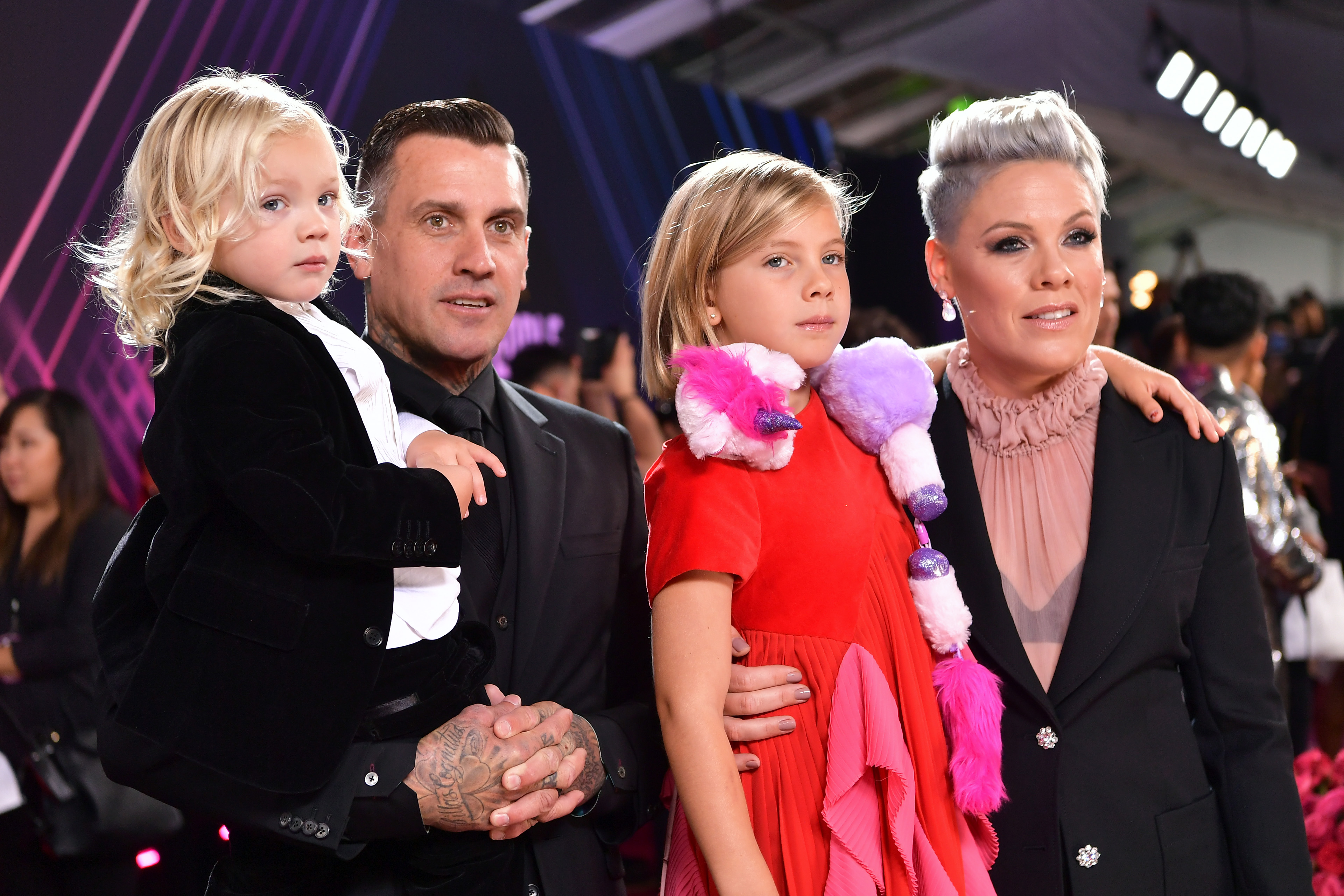 Pink, Carey Hart, Jameson Hart, Willow Hart