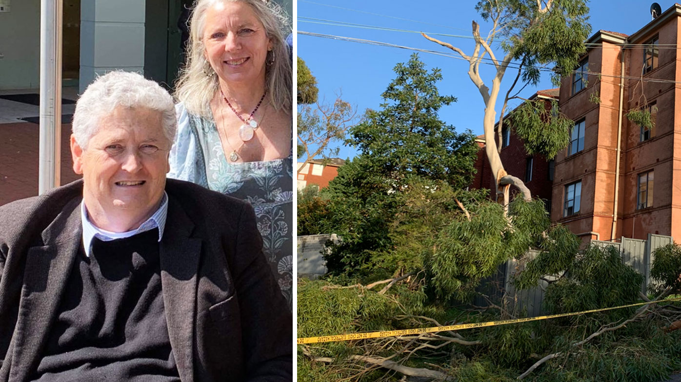 Michael, pictured with his wife Mary, was without power for six days during recent storms. leaving him unable to use several life-saving medical devices.