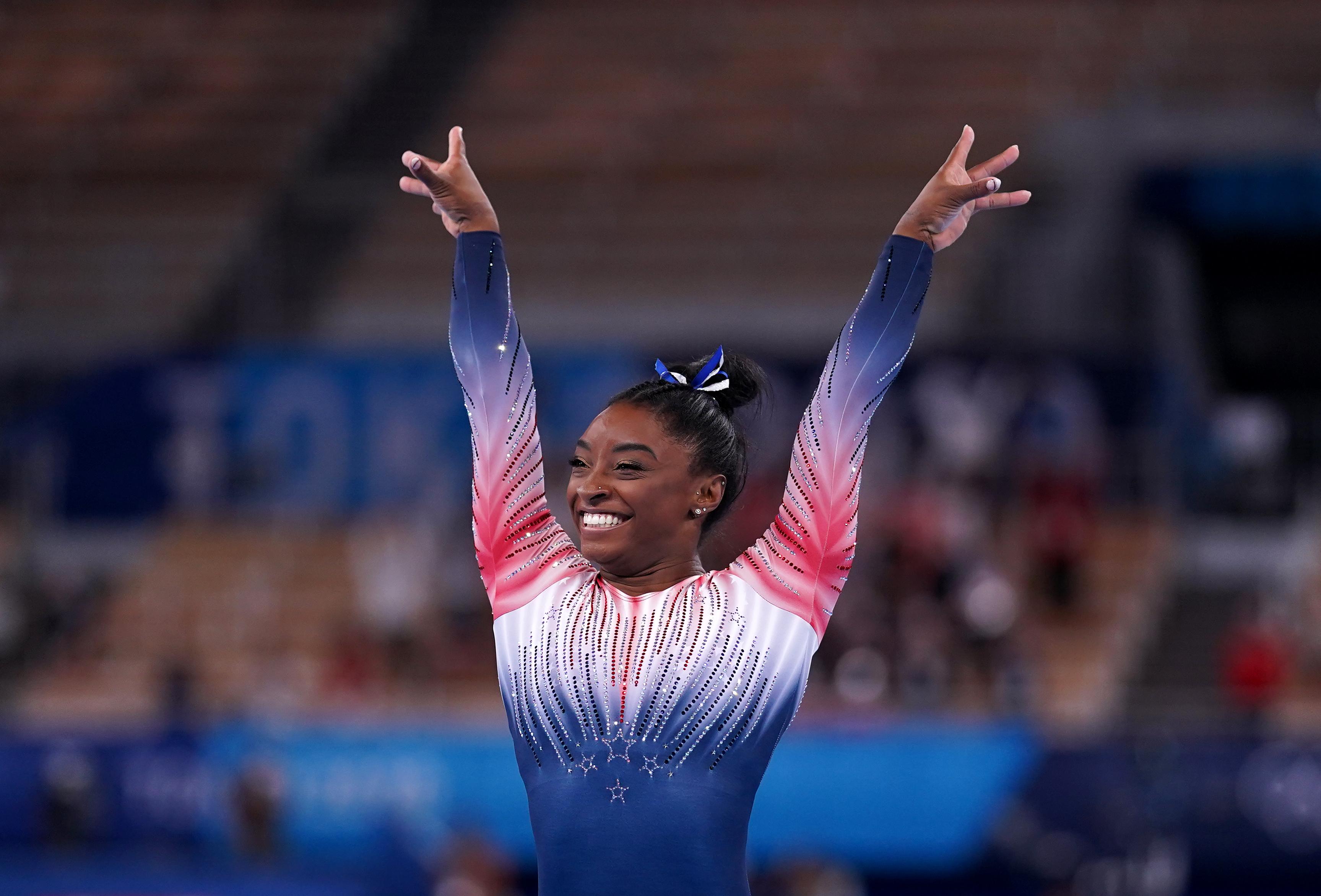 Gymnast's sensational comeback
