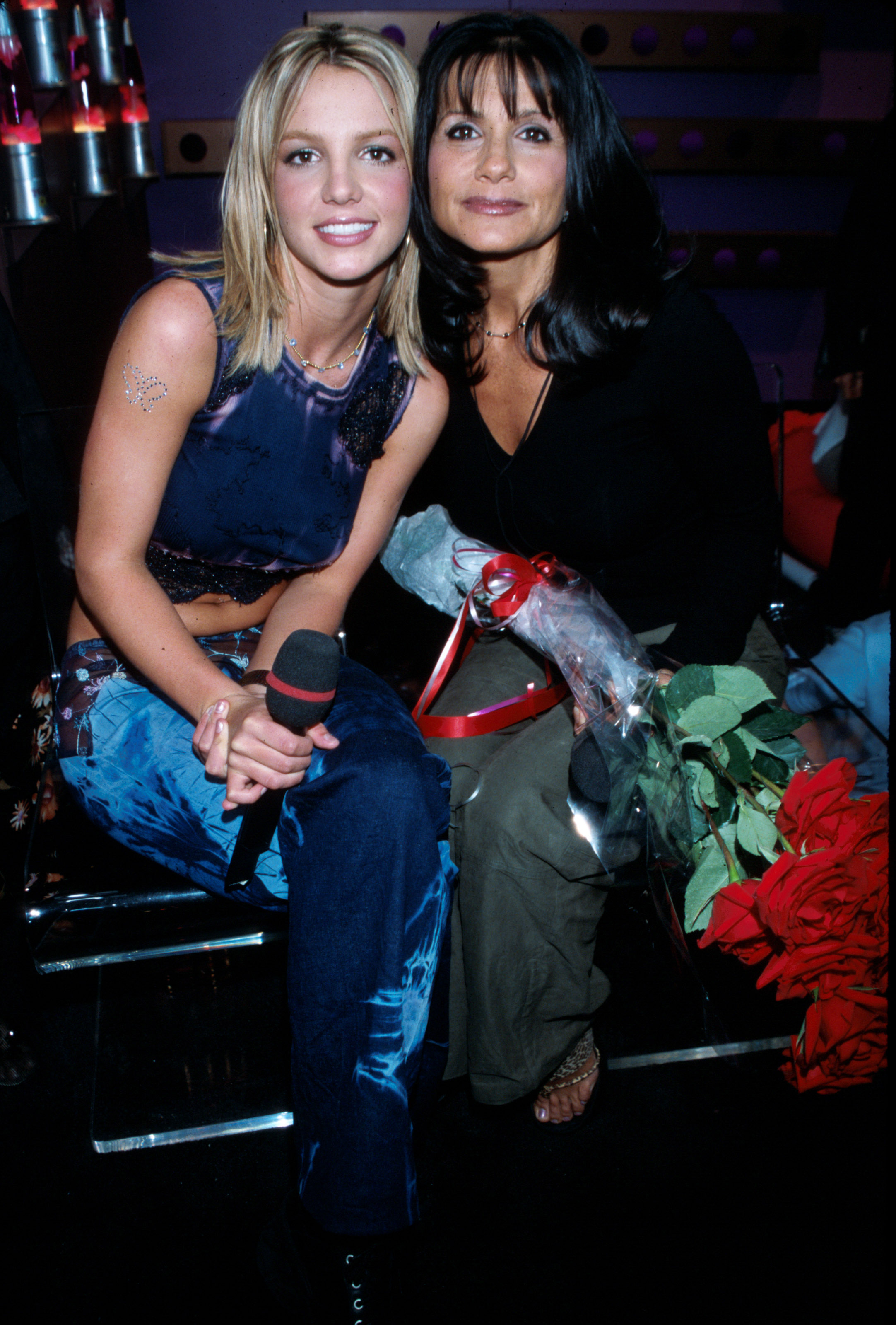 Britney Spears and Lynne Spears in 2000.