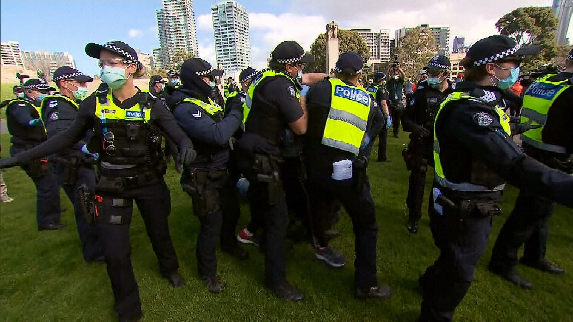 Police brace for anti-lockdown protests third weekend in a row
