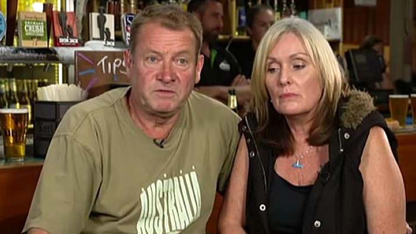 Volunteer firefighter Paul Parker and his wife appear on The Project, where he told the show he had been kicked out of the RFS.