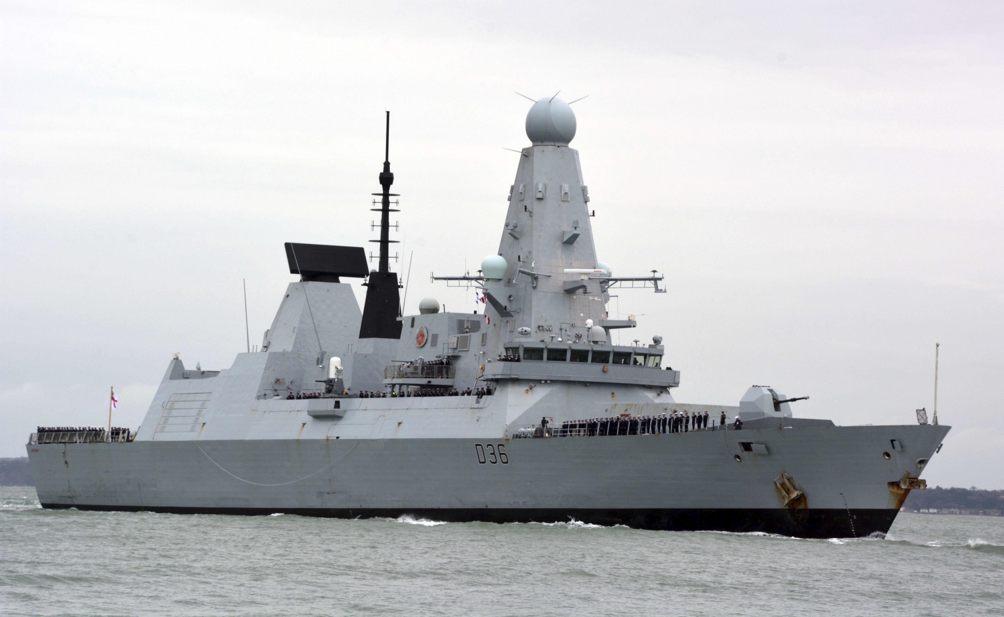 UK denies claims Russia fired warning shots, dropped bombs near British ship