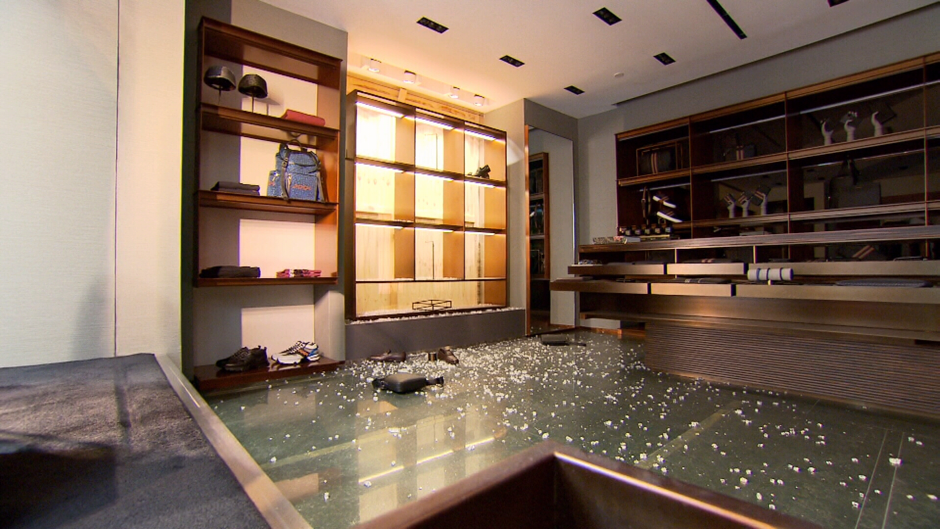 Ermenegildo Zegna loses $15,000 in luxury items in brazen smash-and-grab