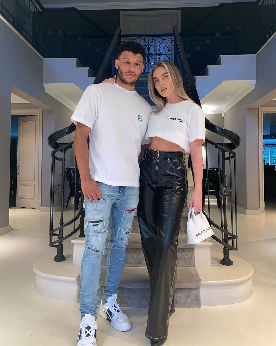 Perrie Edwards, Alex Oxlade-Chamberlain