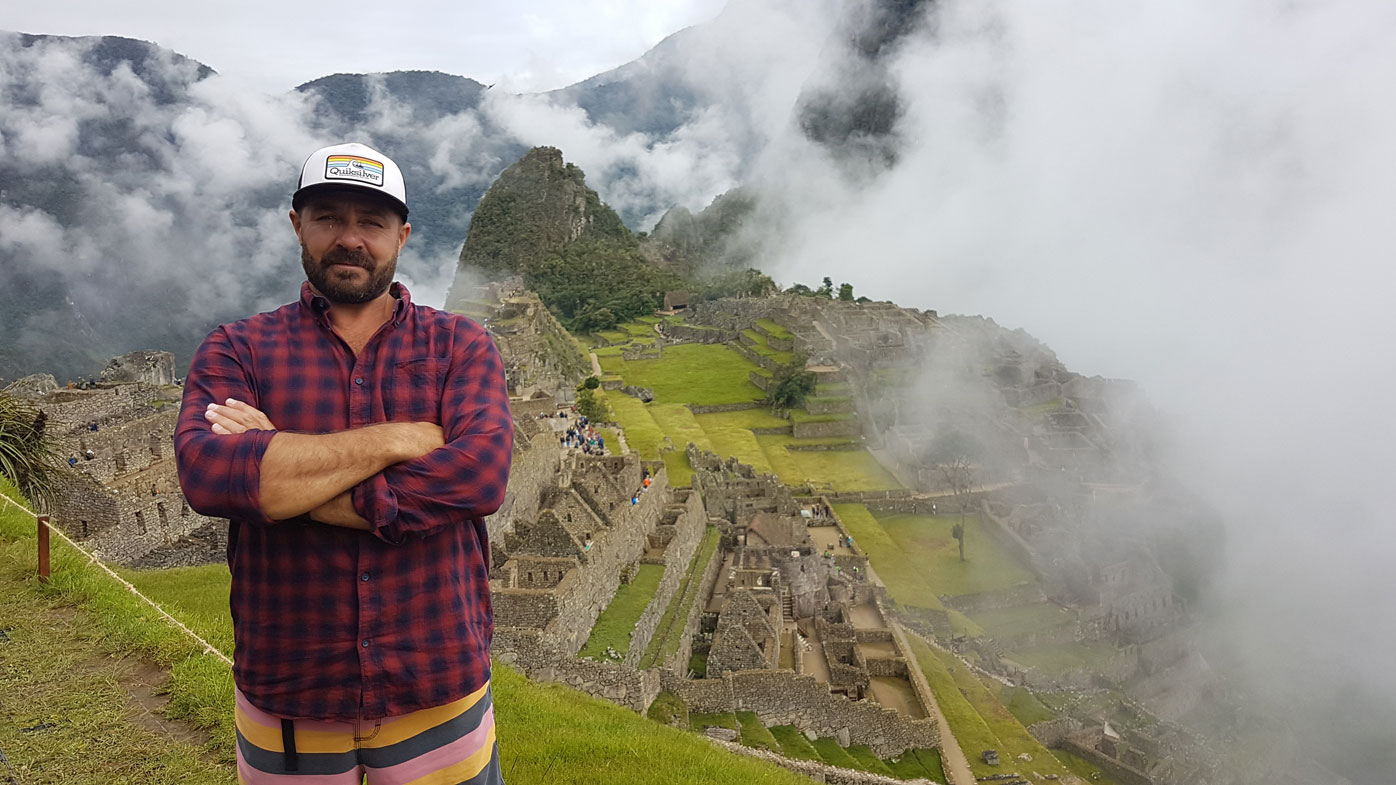 Darrell Cruse is stuck in Peru after the government locked down the country yesterday.