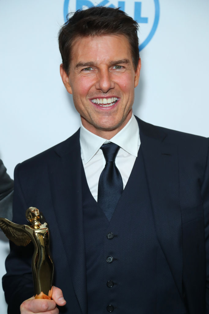 Tom Cruise as Jerry Maguire: Now