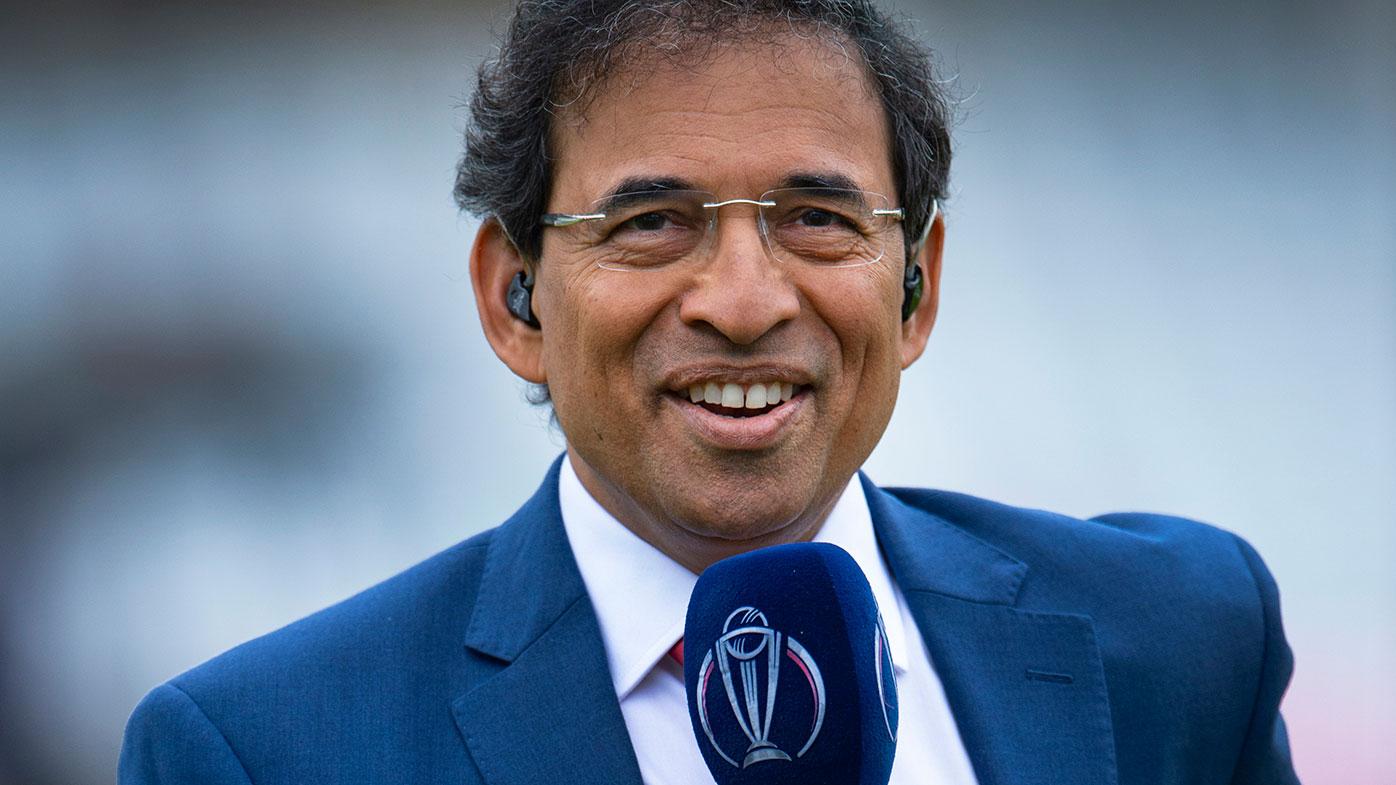 Leading commentator Harsha Bhogle.