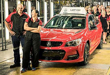 Last Holden Commodore (AAP)