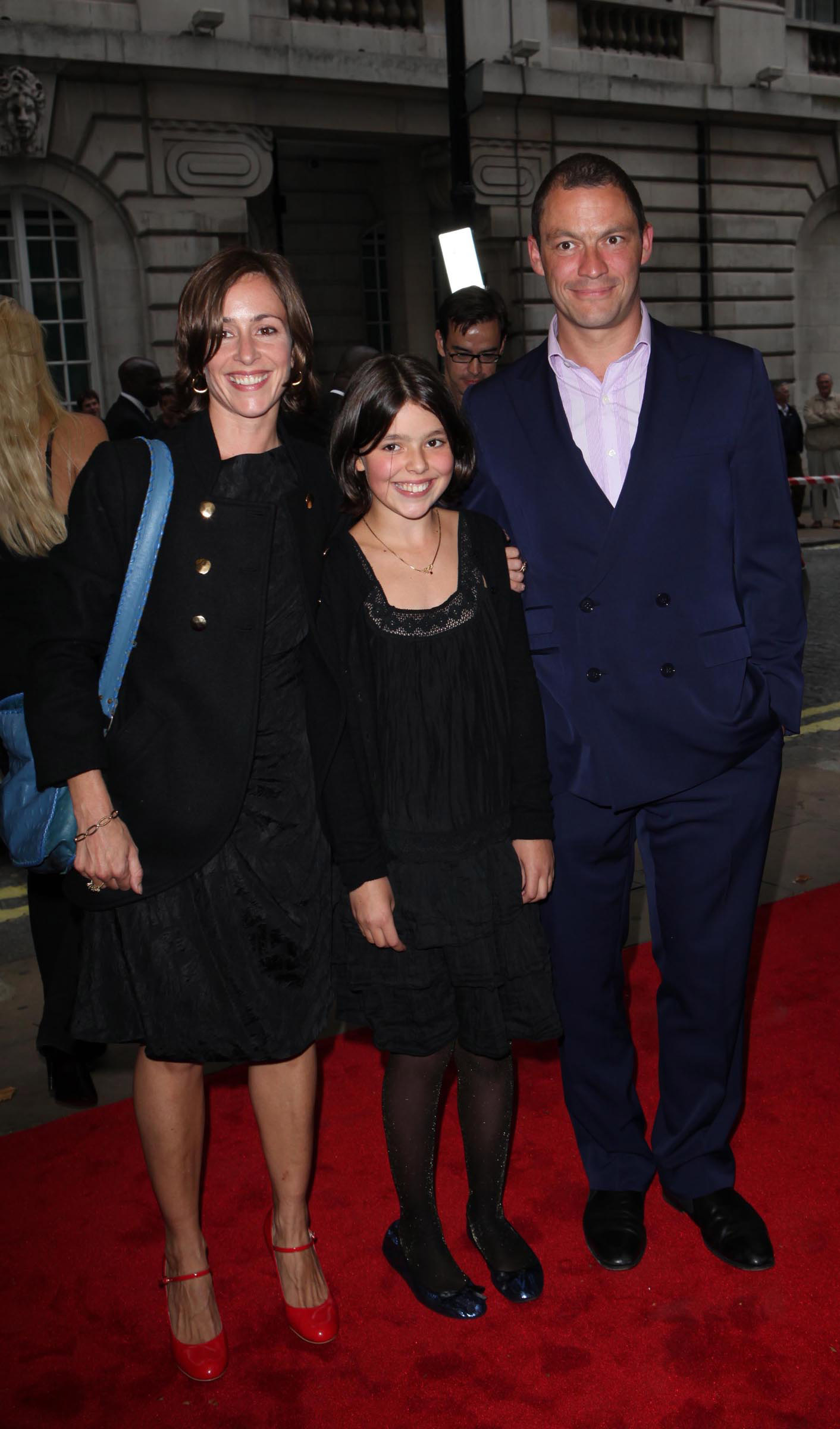 Polly Astor, Martha West and Dominic West  attends the UK Premiere of 'Creation' on September 13, 2009 in London, England.