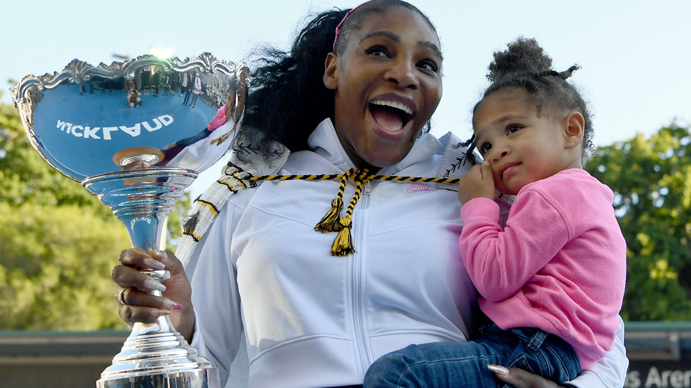 Serena Williams ends tennis title drought in New Zealand