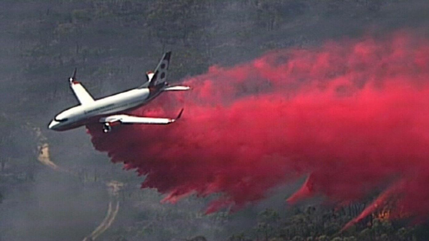 Firefighters gaining upper hand on property-threatening blaze