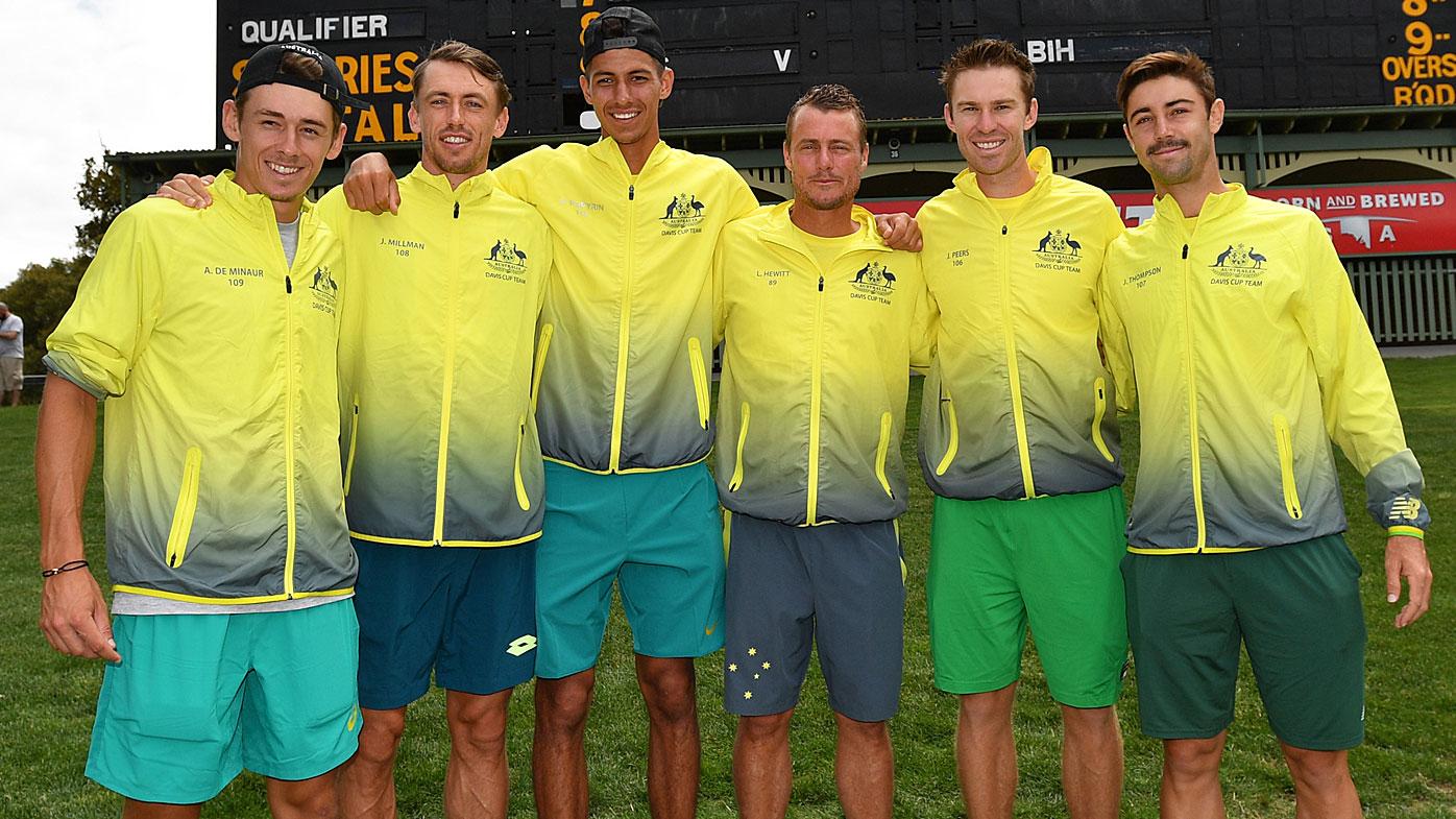 Australian Davis Cup team