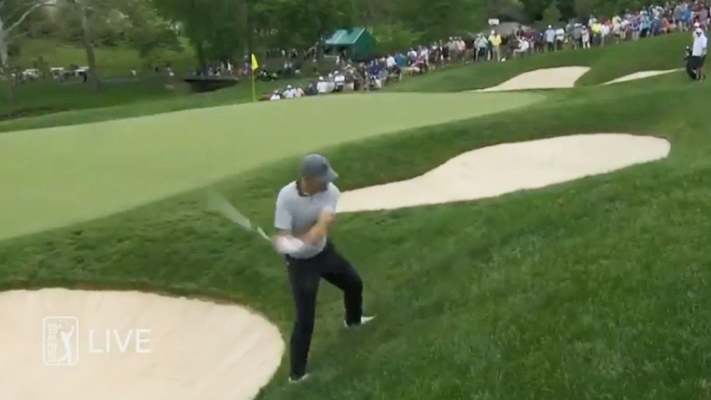 Spieth was on fire with his wedges