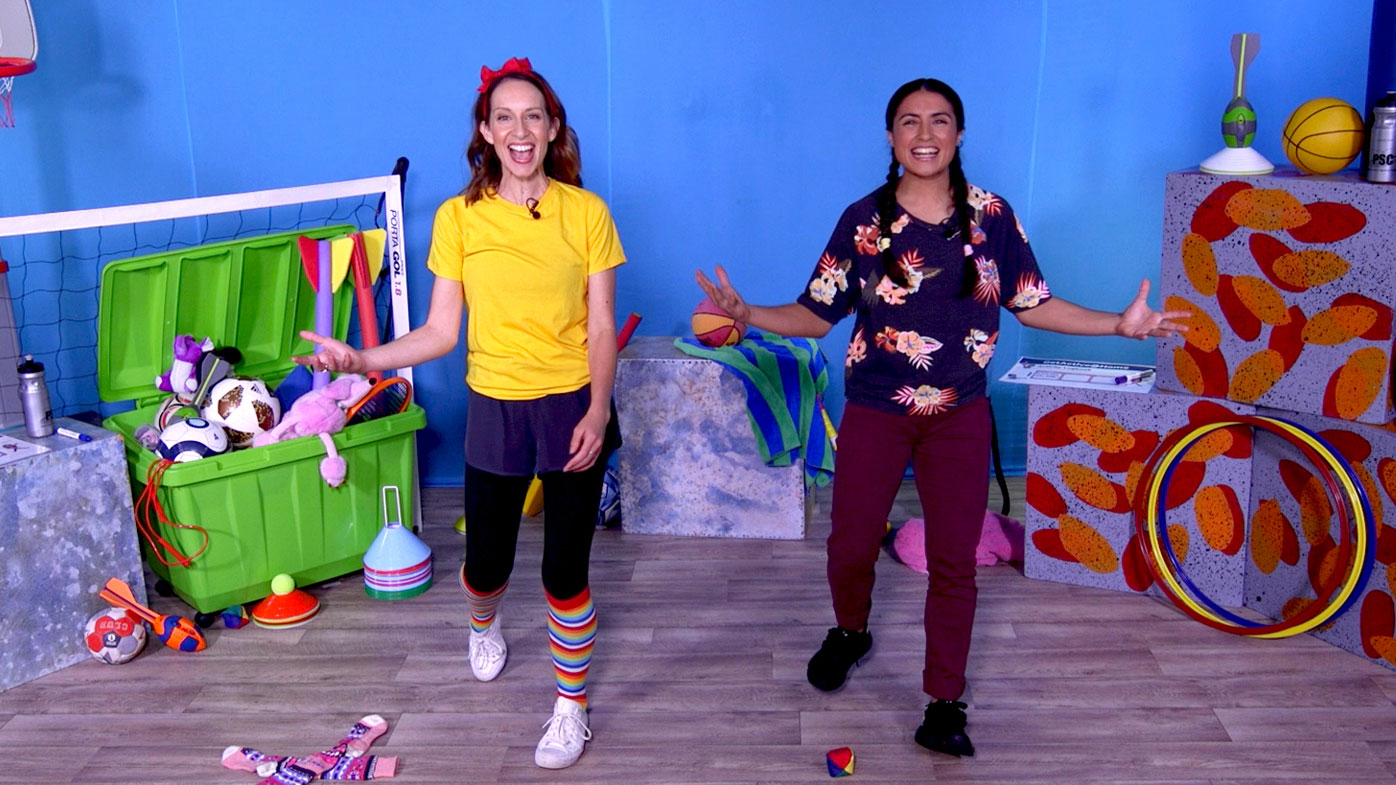 Video demonstrations provide clear instructions showing children how to complete a range of movement activities in a safe and fun way