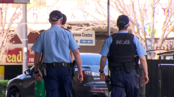 Police have caught owners and workers at a western Sydney brothel continuing to operate while under lockdown.