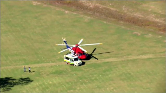 A man is in a serious condition and is expected to be airlifted to a Brisbane hospital following a skydiving incident in south east Queensland.