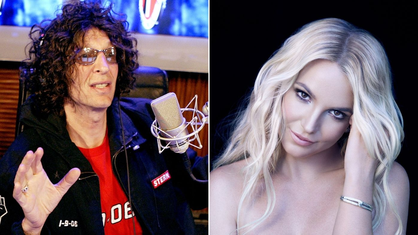 Howard Stern has shown support for Britney Spears.