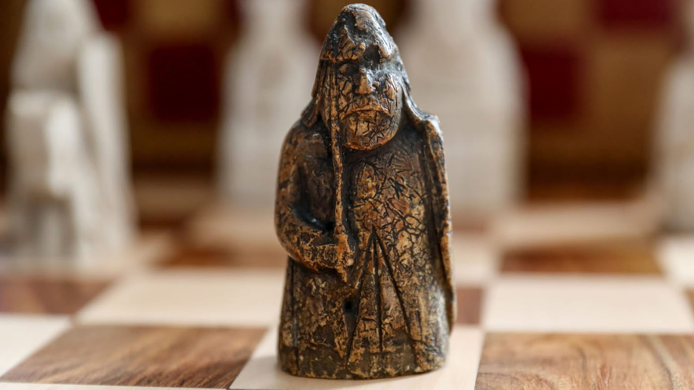 This is the first piece from the Lewis Chessmen set to be auctioned