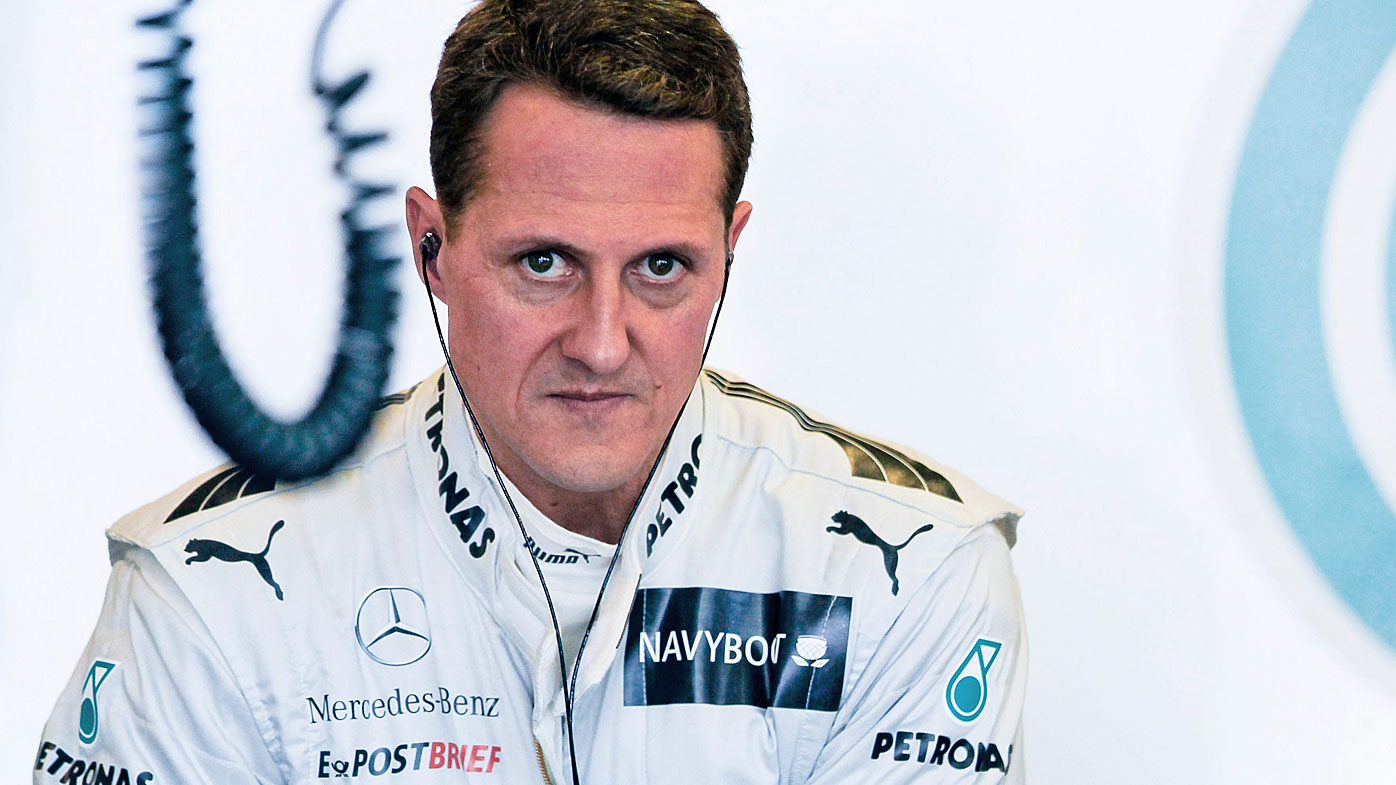 German Formula One driver Michael Schumacher