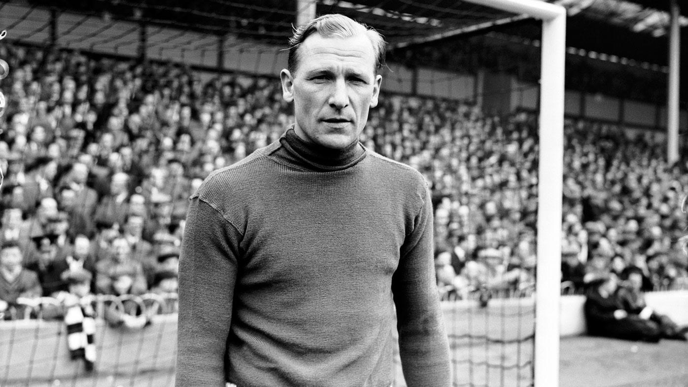 Bert Trautmann was a beloved member of the Manchester City football team.