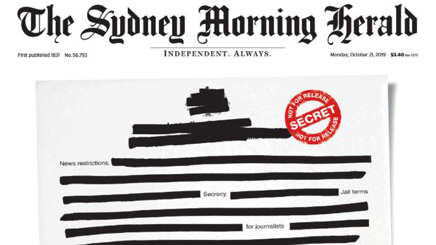 Why today's front pages are blank