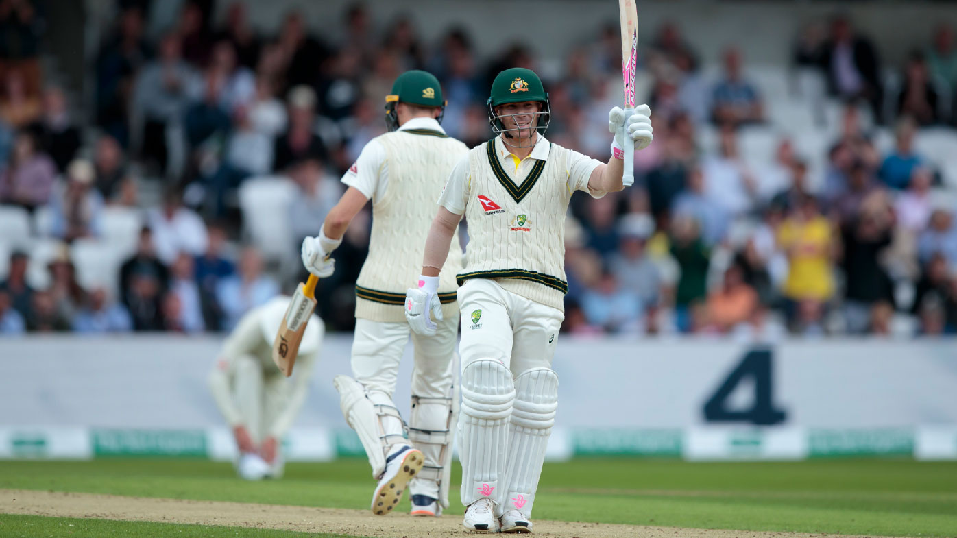 Warner found form in the first innings