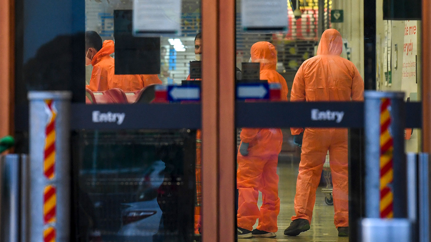 The Epping Woolworths is deep-cleaned after being mistakenly identified as a coronavirus exposure site.