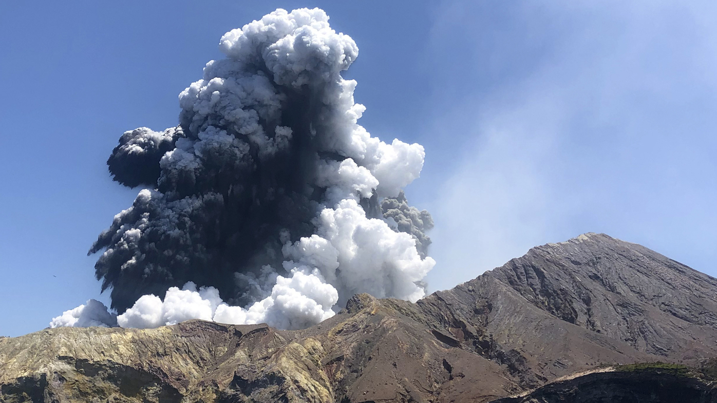 Eight bodies remain on White Island after the eruption on Monday.