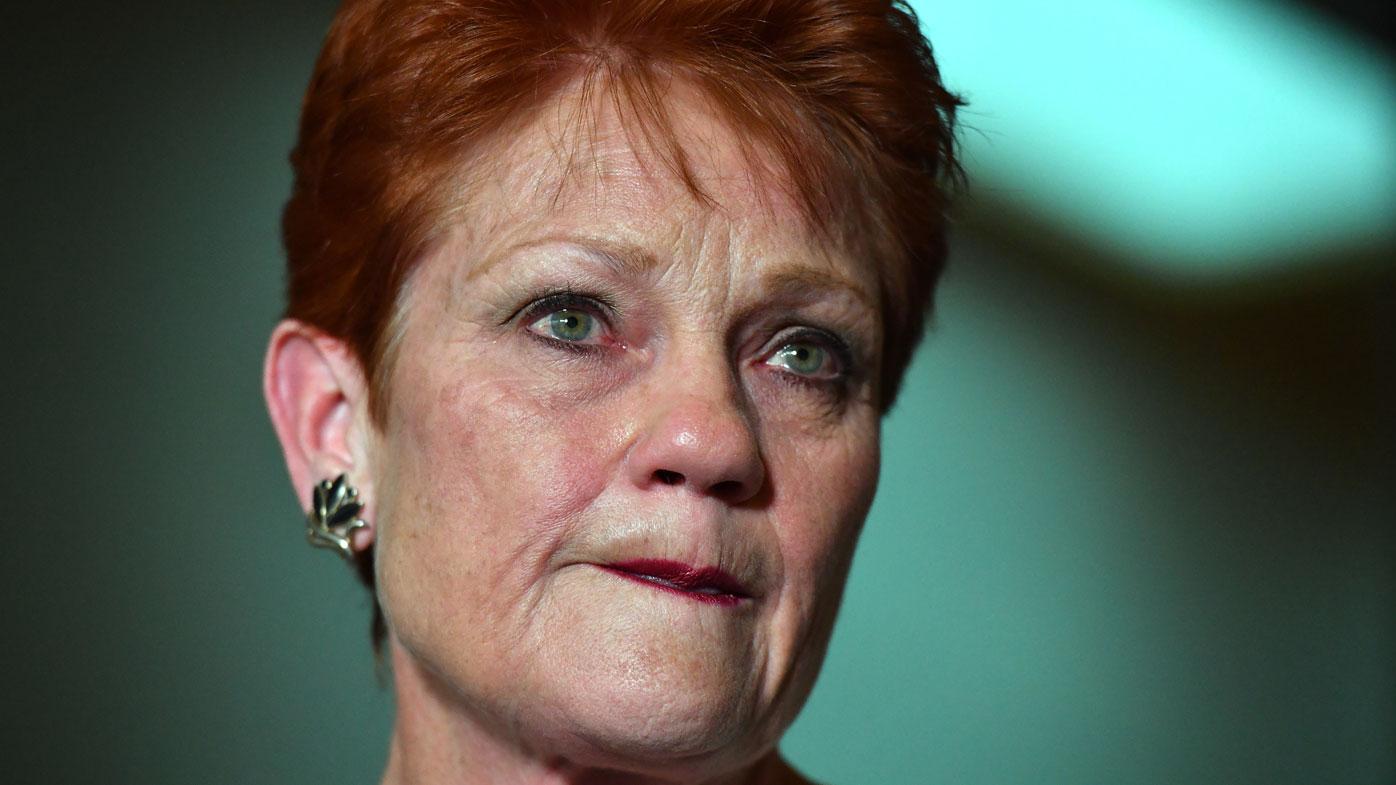 Pauline Hanson breaks down on Alan Jones' show
