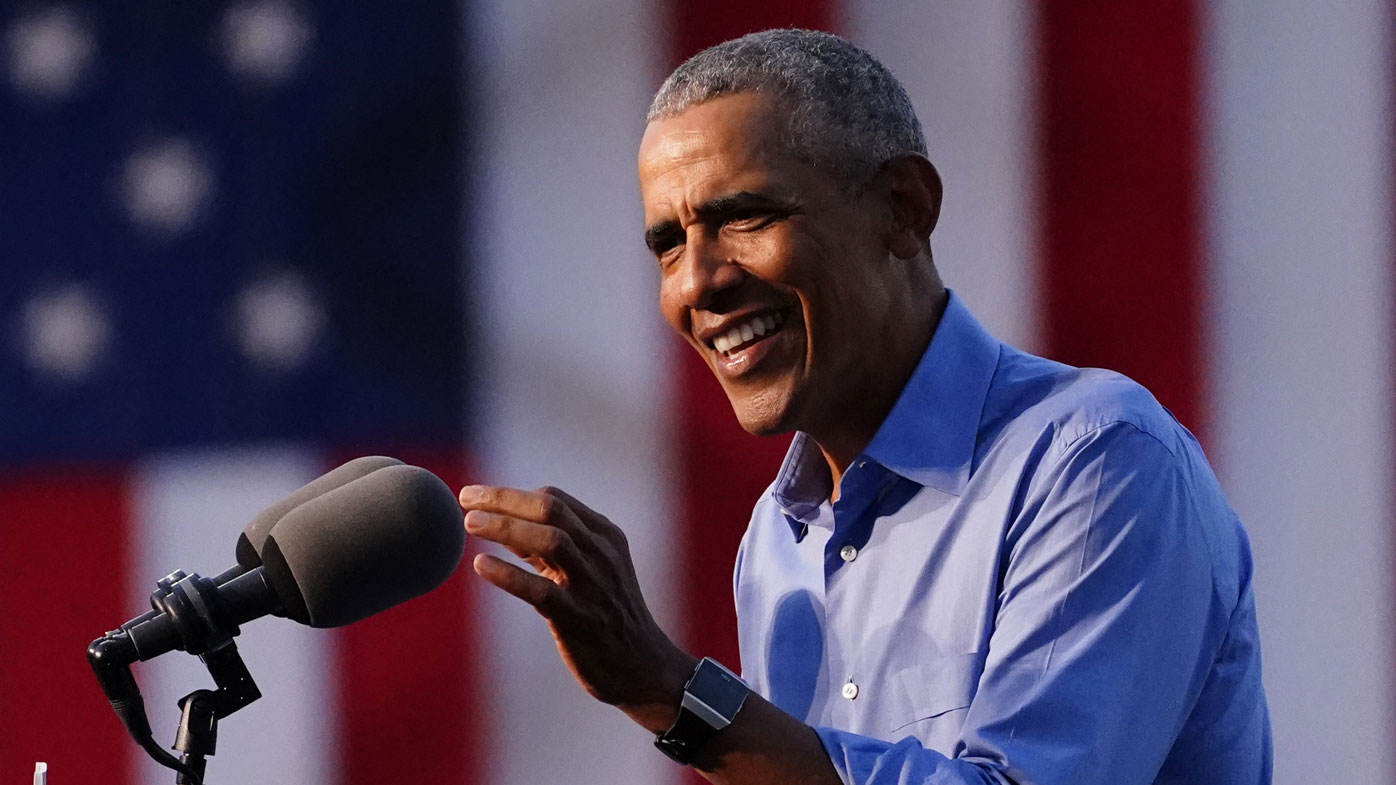Barack Obama has largely held his tongue during the past four years, but is not speaking out against Donald Trump.