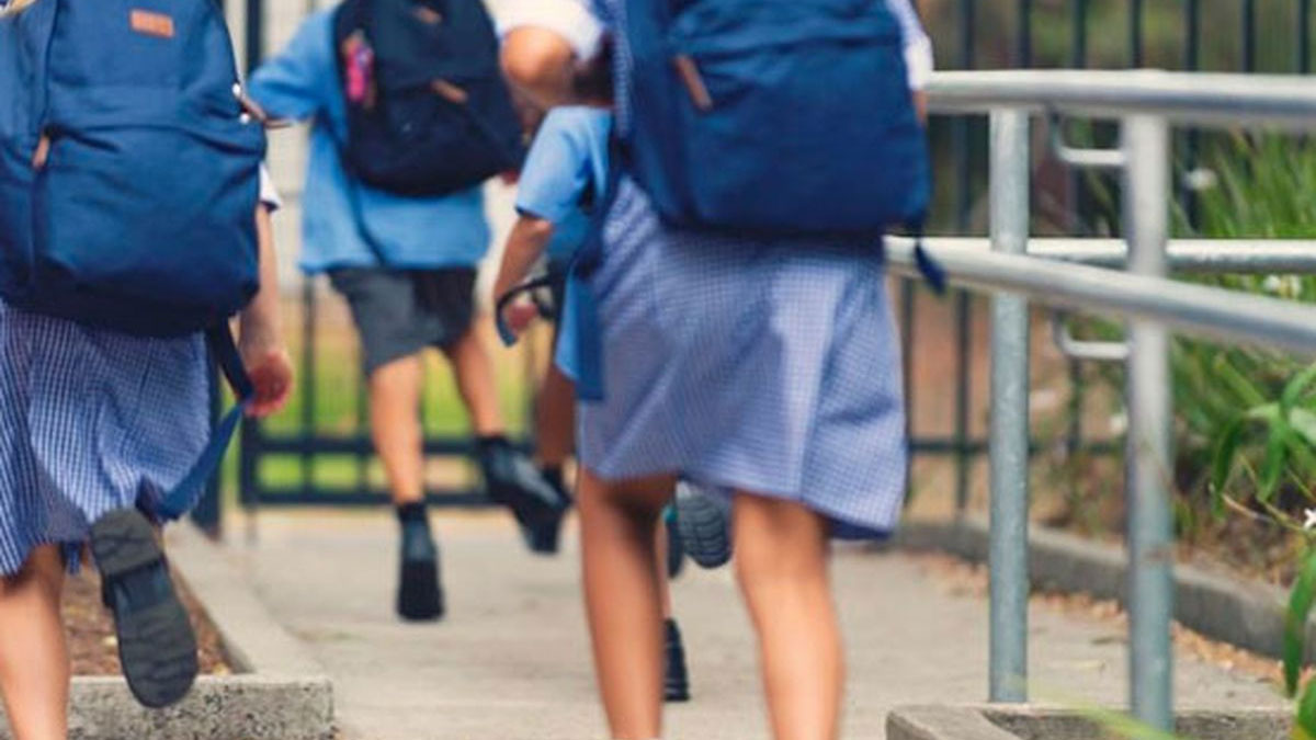 NSW students will start a staggered classroom return from late October, the state government announced. (AAP)