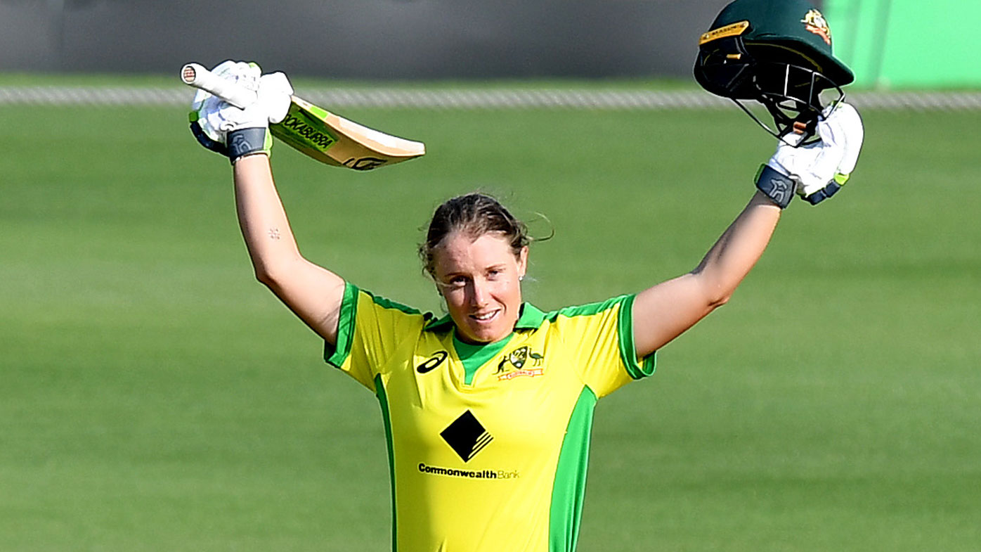 Australia Women Thrash Sri Lanka in First ODI to Take Series Lead