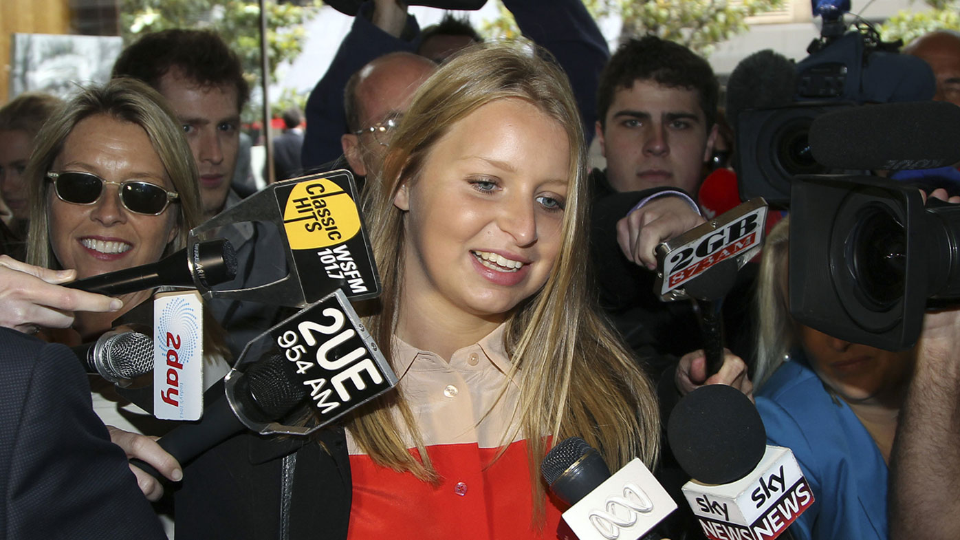 Madeleine Pulver had the hoax bomb with an extortion note and USB attached to her neck inside her Mosman home.