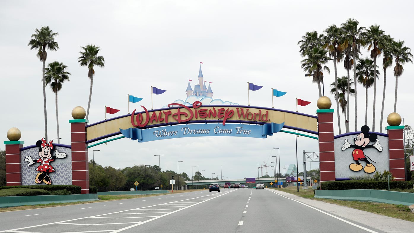 Man arrested for trying to quarantine on Disney island