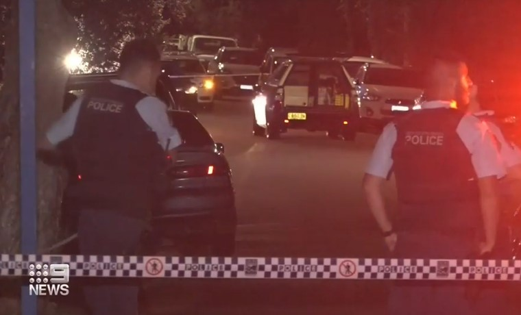 Residents on alert after mystery shooting on suburban Sydney street