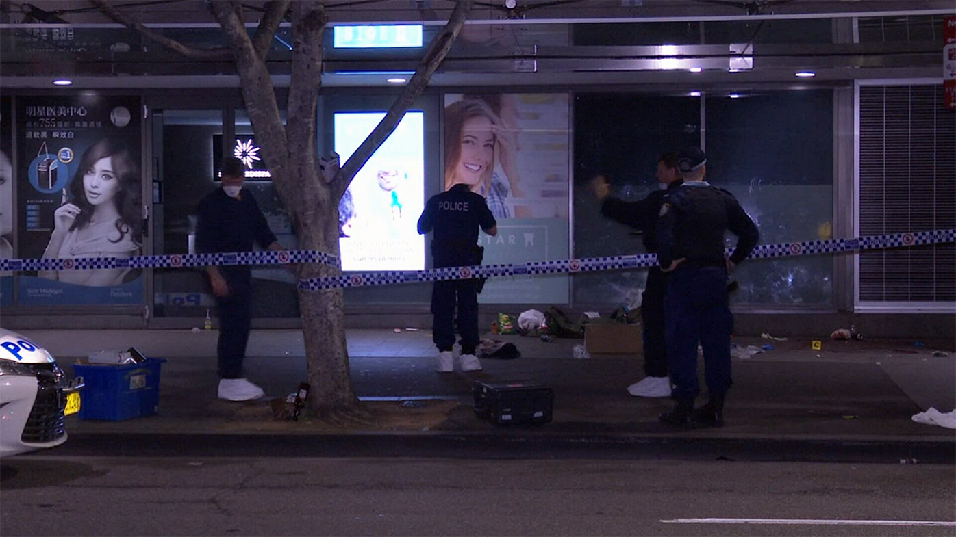 Four arrested after spate of violence in Sydney