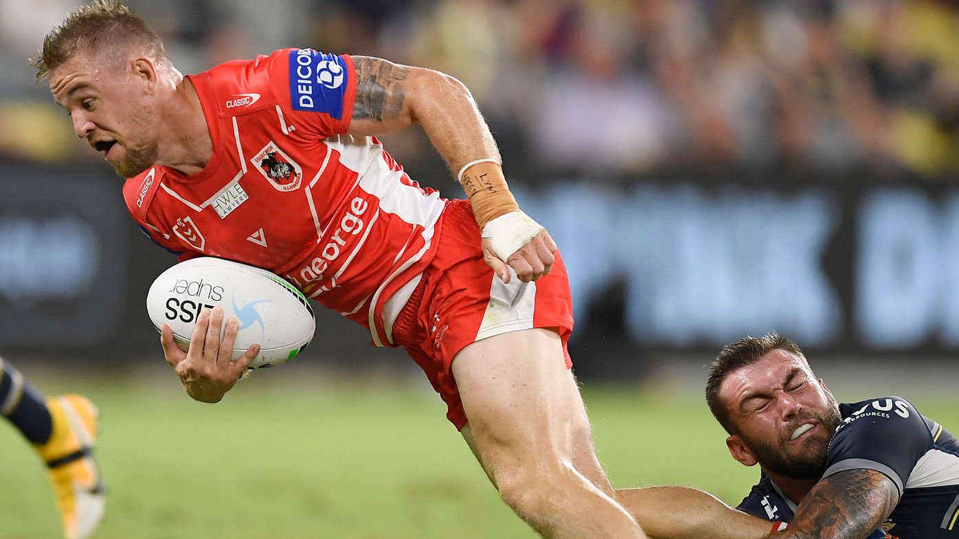 Dufty stars for the Dragons. (Getty)