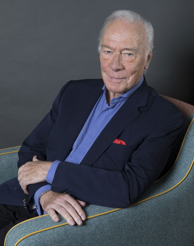 """Christopher Plummer poses for a portrait to promote his film """"Boundaries"""" on June 11, 2018, in New York."""