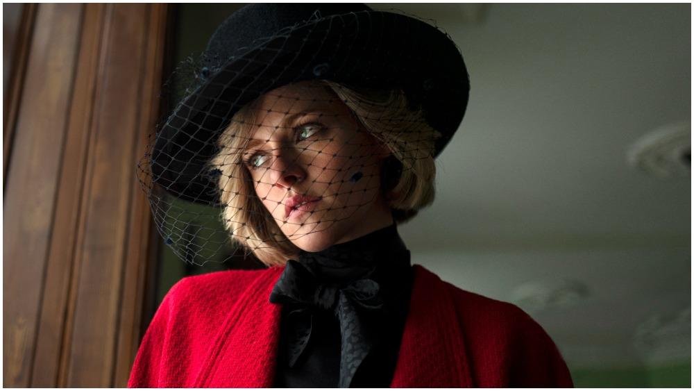 Kristen Stewart as Princess Diana in movie Spencer