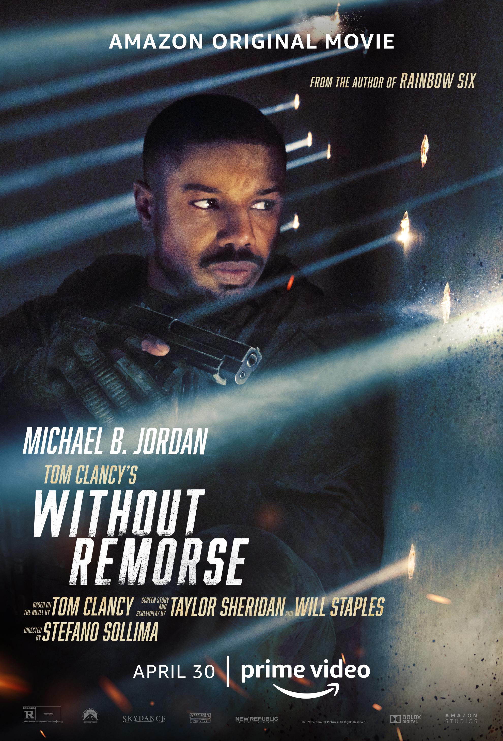 Aussie actor Todd Lasance, Without Remorse, movie, Michael B Jordan