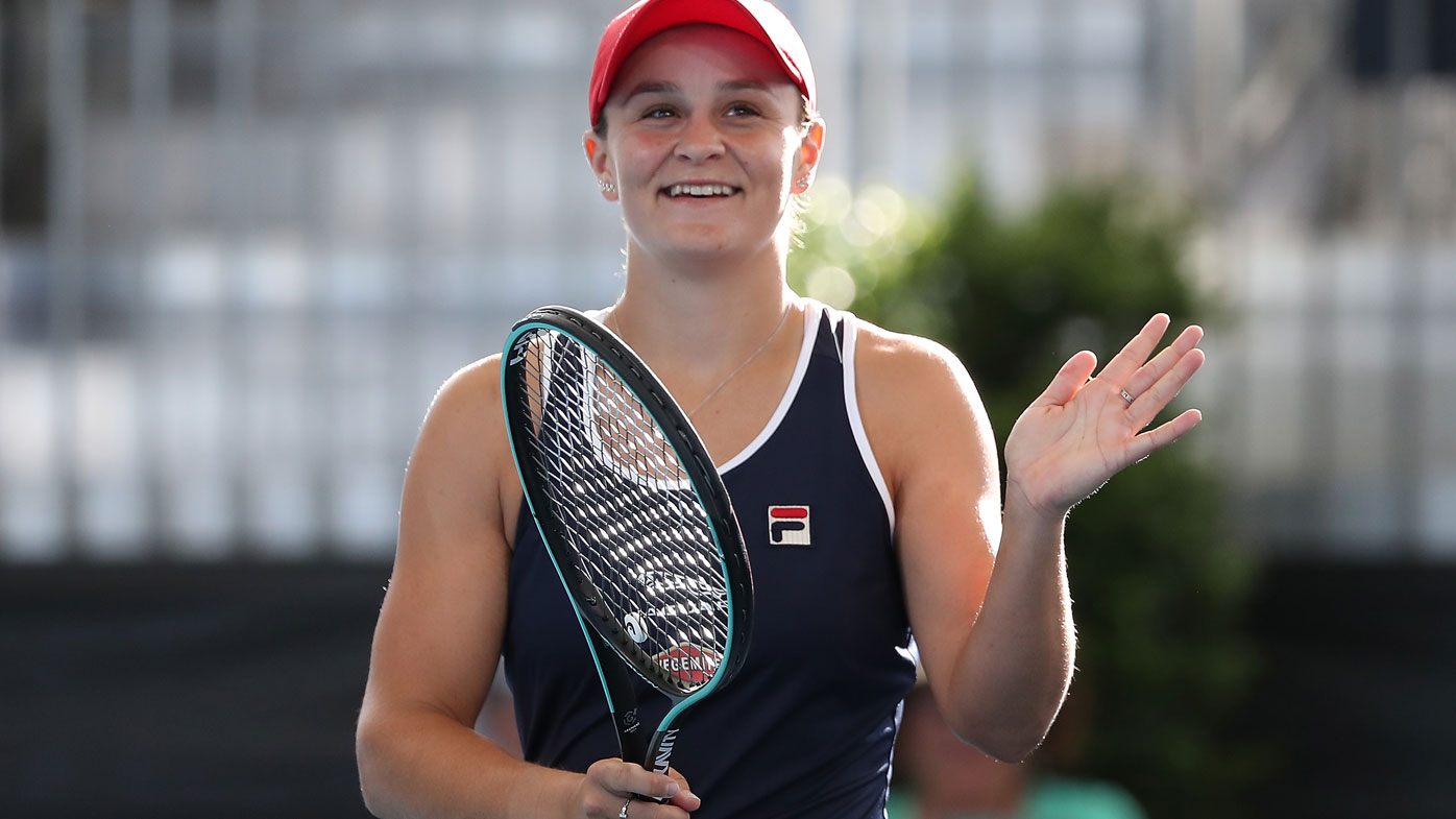 Barty wins Adelaide title in Australian Open boost