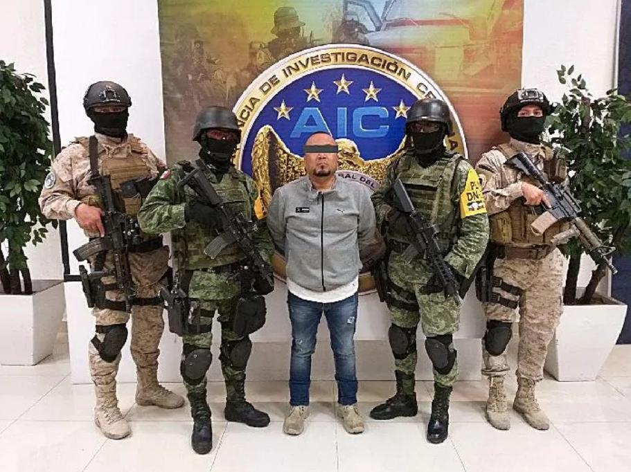 Alleged cartel leader dubbed 'The Sledgehammer' caught after manhunt